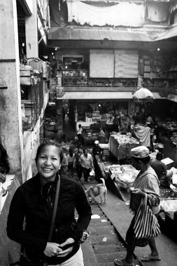 Christine visiting from San Diego USA - Bali Street Photographer Pasar Ubud