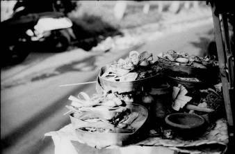 Balinese Offerings - Book your Bali street photography tour