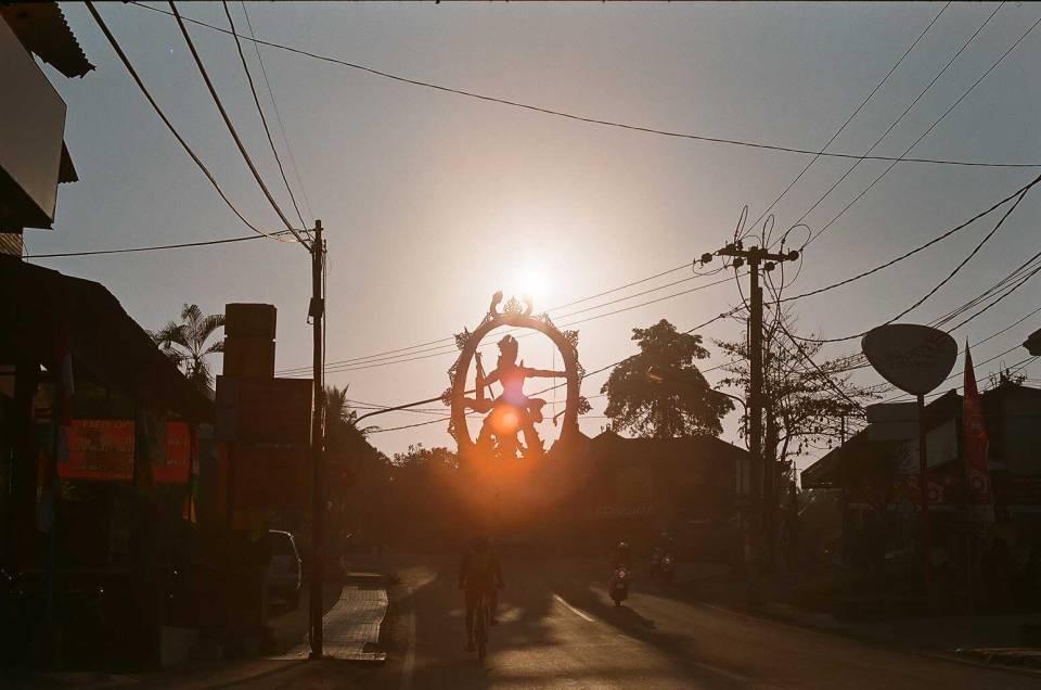 Patung Arjuna / Arjuna Statue - Bali Street Photographer Ubud Bali