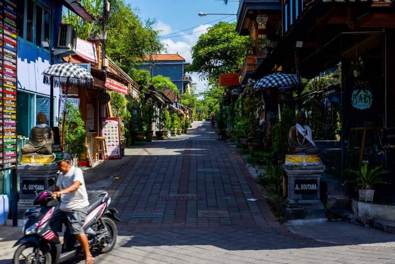 Jalan Goutama Ubud Bali - Bali Street Photographer Tour