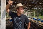 Portrait of Edi co-founder of Seniman Coffee - Bali Street Photographer Ubud Bali