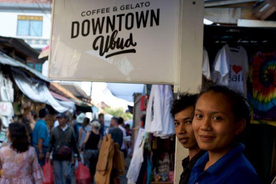 Downtown Ubud Cafe - Bali Street Photographer