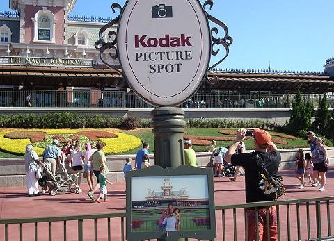 Kodak picture spot at Walt Disney World