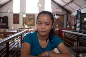Bokeh Technique - Bali Street Photographer