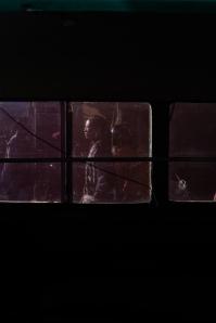 Woman through a bimo window - Pasar Ubud Bali Street Photography Tours