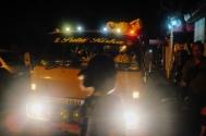 An pre dawn bemo ride - Pasar Ubud Bali Street Photography Tours