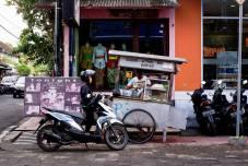Kaki Lima or Five Legs street food vendor - Bali Street Photographer