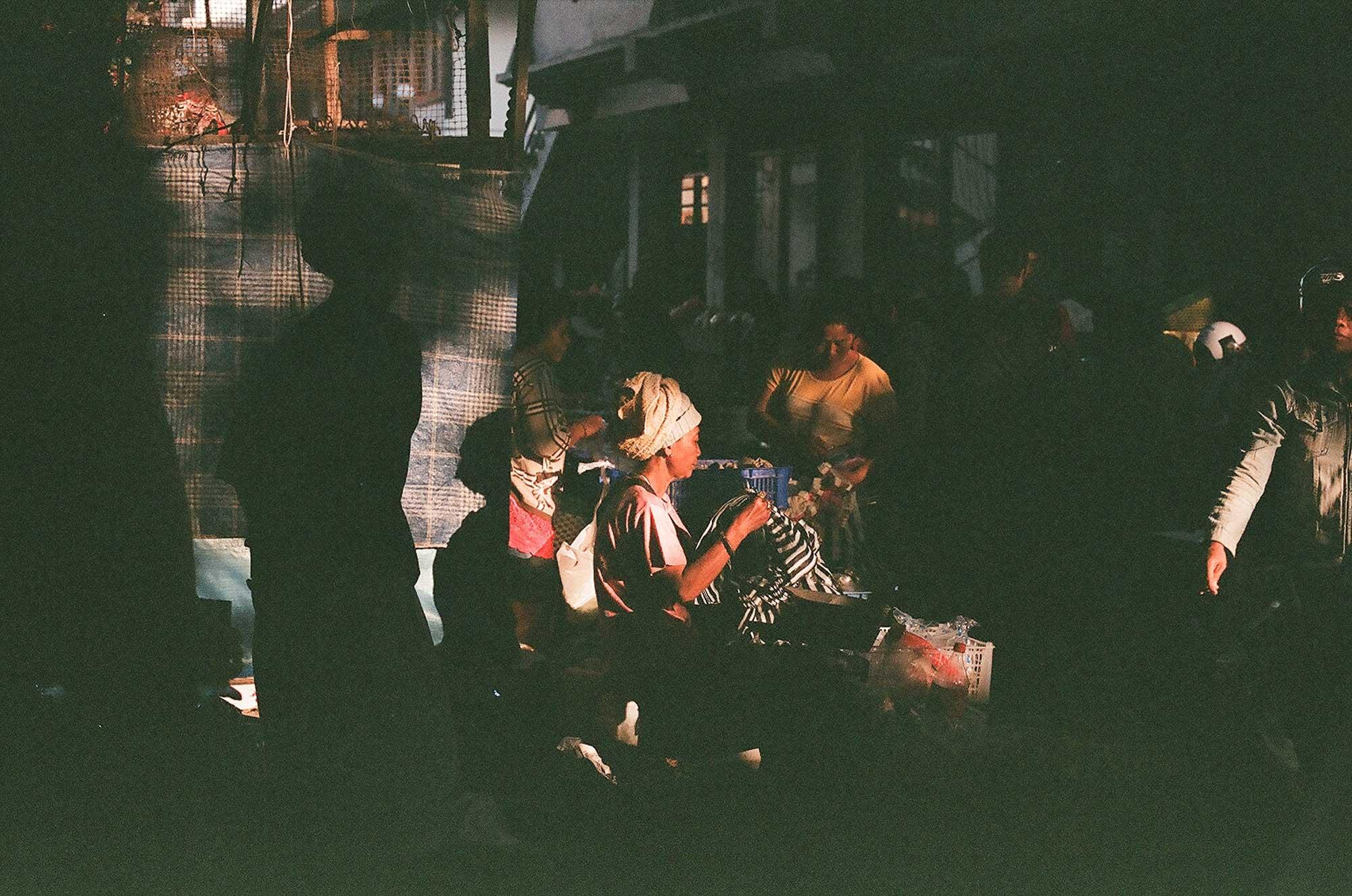 Pasar Ubud on 35mm film by Bali Street Photographer