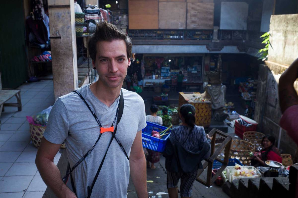 Testimonial from Scott visiting from Canada - Bali Street Photographer Pasar Ubud