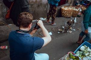 Testimonial from Florian visiting from Germany - Bali Street Photographer Pasar Ubud