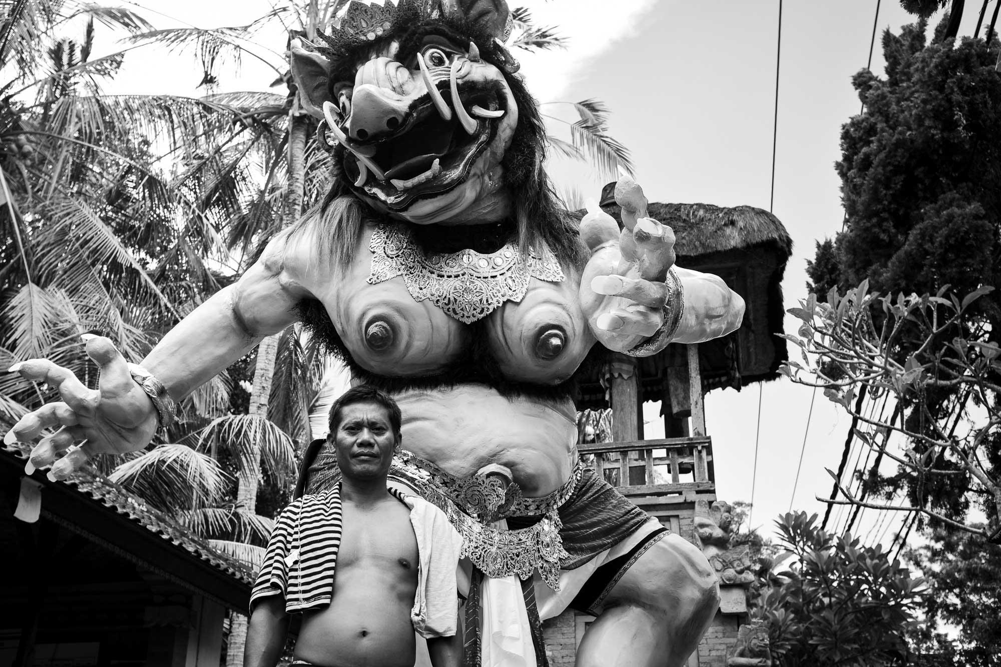 Ogoh-ogoh - Bali Street Photographer