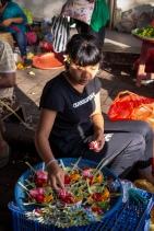 Canang at Pasar Ubud - Bali Street Photographer
