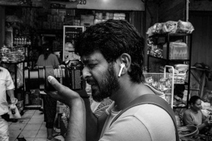 Guest Bali Street Photographer Sid from India by mark l chaves