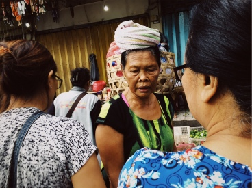Frames and Layers using a phone camera. Bali Street Photographer tour.