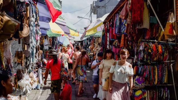 Vibrant Colours Galore - Pasar Ubud Bali