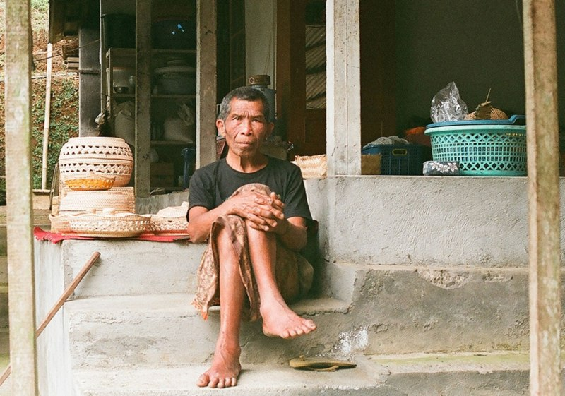 Photographing People - Balinese Bapak on 35mm film