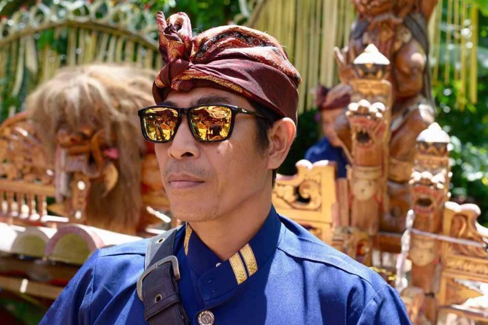 Gamelan Musician - Bali Street Photographer