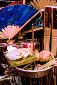 Canang sari Balinese offerings Pasar Ubud Bali - Bali Street Photographer Tour