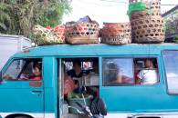 Full Bemo Ride at Pasar Ubud - Bali Street Photography Tours
